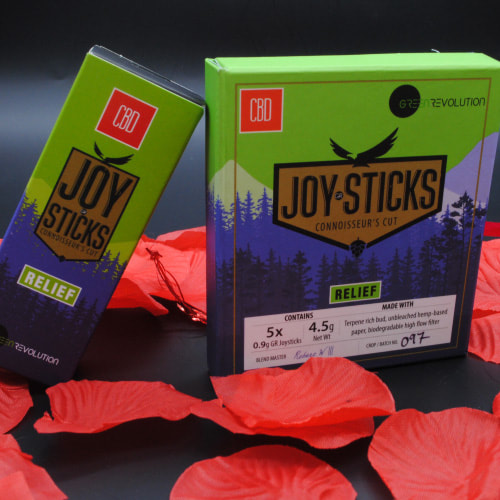 CBD Joysticks, Green Revolution